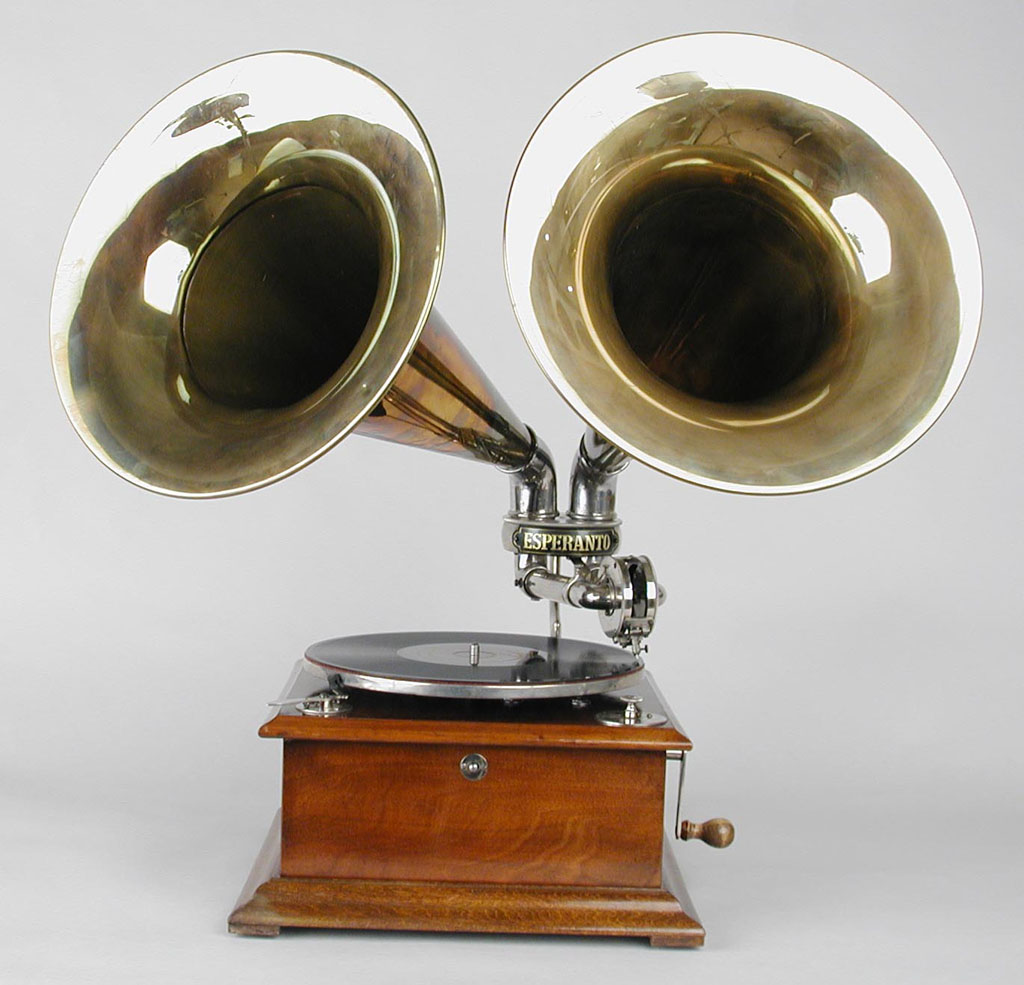 radio phono mania phonographe esperanto deux pavillons. Black Bedroom Furniture Sets. Home Design Ideas